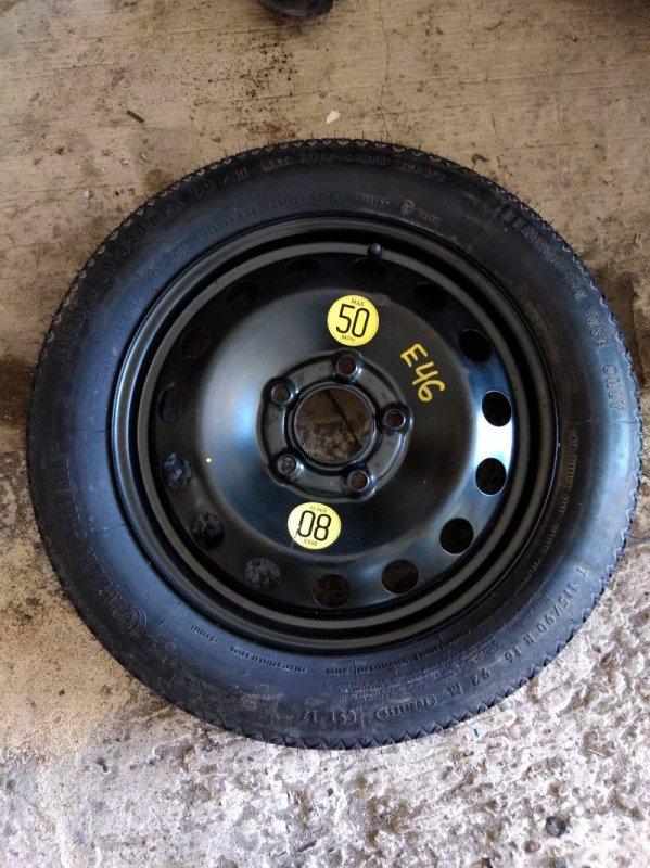 Запасное колесо Bmw 3-Series E46 M43B19TU 1999
