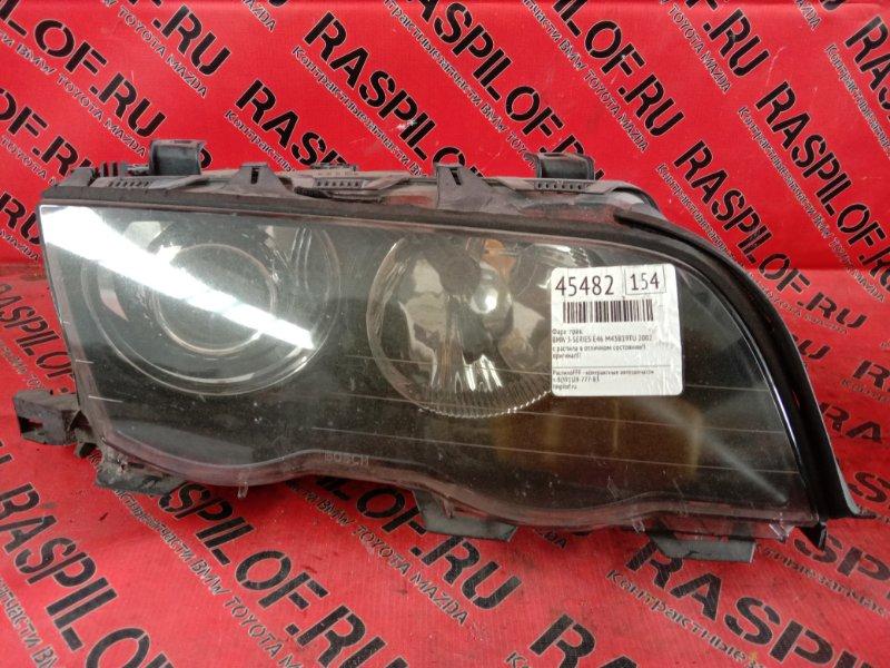 Фара Bmw 3-Series E46 M43B19TU 1999 правая