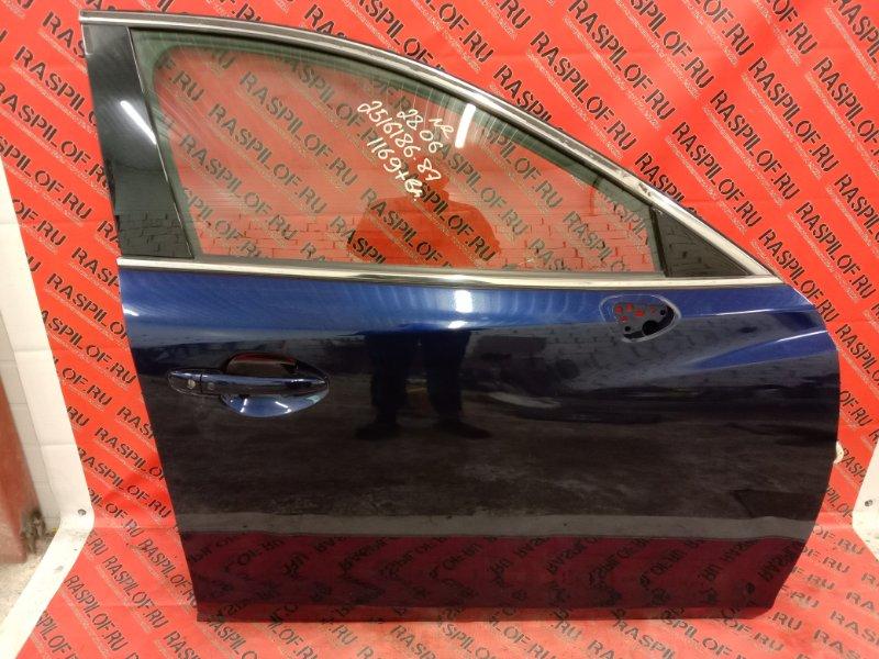 Дверь боковая Mazda Atenza GJ5FP PY 2013 передняя правая