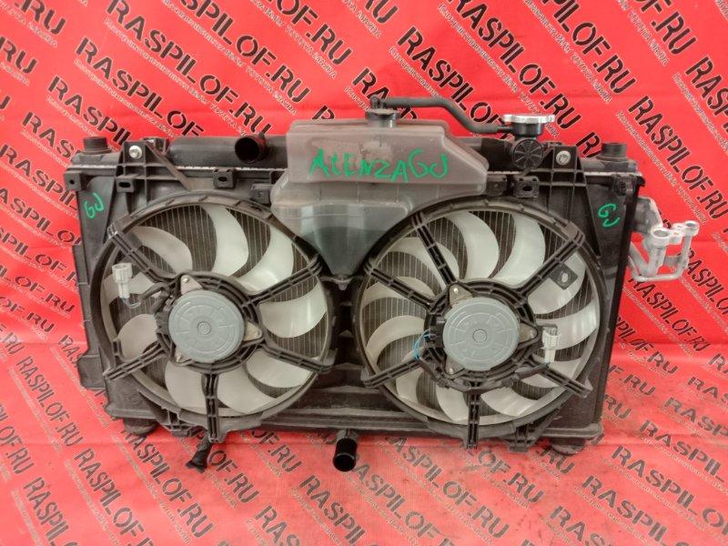 Радиатор двигателя Mazda Atenza GJ5FP PY 2013