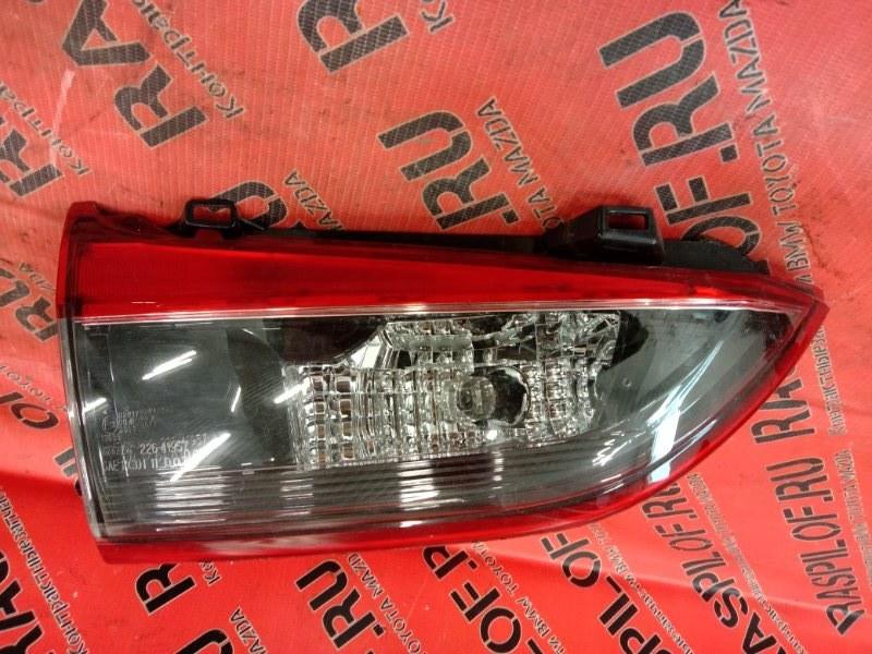 Фонарь стоп-сигнала Mazda Atenza GJ5FP PY 2013 левый