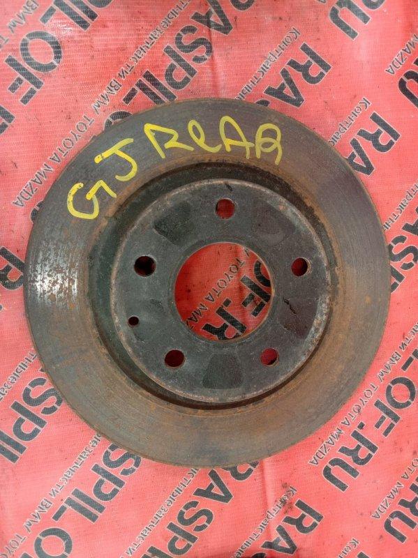 Диск тормозной Mazda Atenza GJ5FP PY 2013 задний