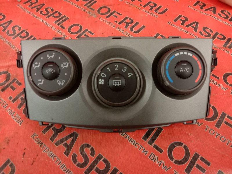 Блок управления климат-контролем Toyota Corolla Axio NZE144 1NZ-FE 2009