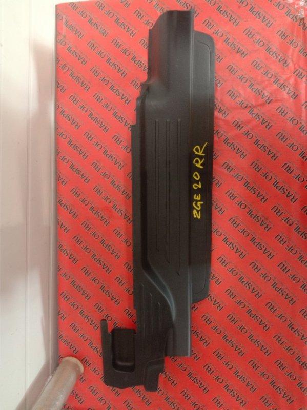 Накладка на порог Toyota Wish ZGE20 2ZR-FAE 2010 задняя правая
