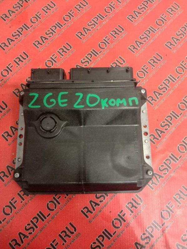 Блок управления двигателем Toyota Wish ZGE20 2ZR-FAE 2010
