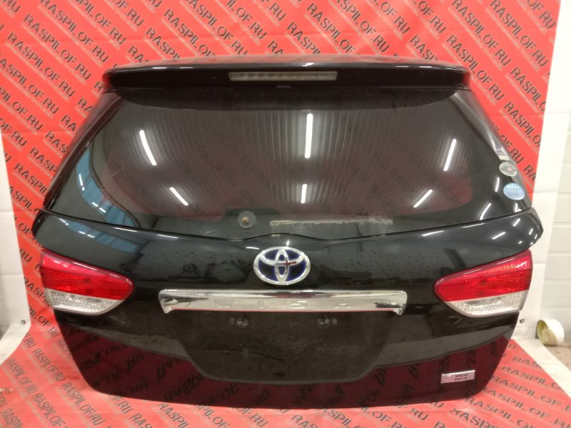 Дверь задняя багажника Toyota Wish ZGE20 2ZR-FAE 2010