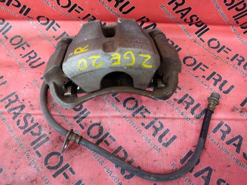 Суппорт Toyota Wish ZGE20 2ZR-FAE 2010 передний правый