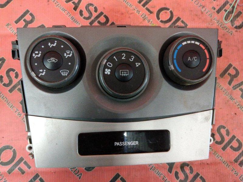 Блок управления климат-контролем Toyota Corolla Fielder NZE144 1NZ-FE 2009