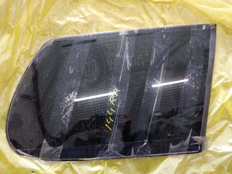 Стекло собачника Toyota Corolla Fielder NZE144 1NZ-FE 2009 правое