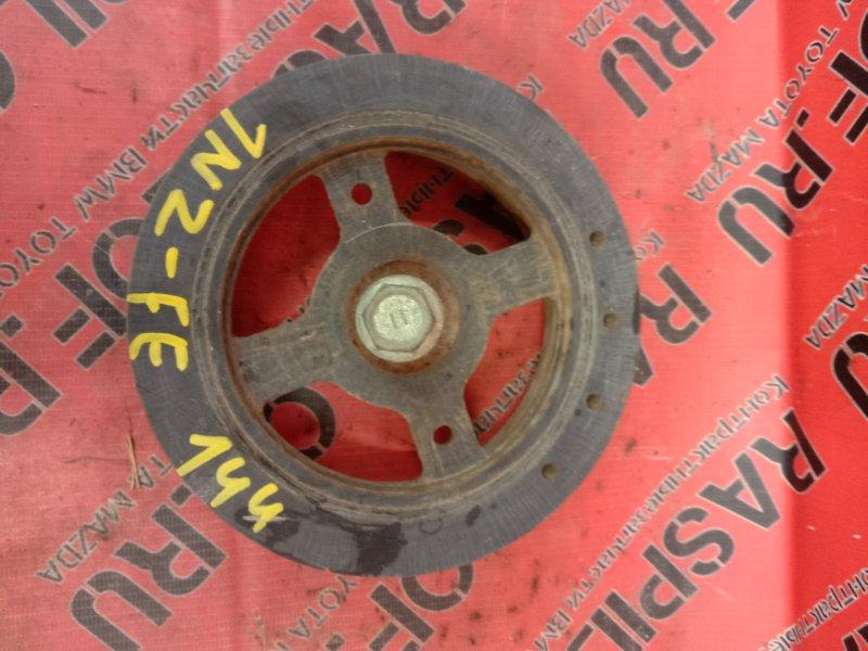 Шкив коленвала Toyota Corolla Fielder NZE144 1NZ-FE 2009