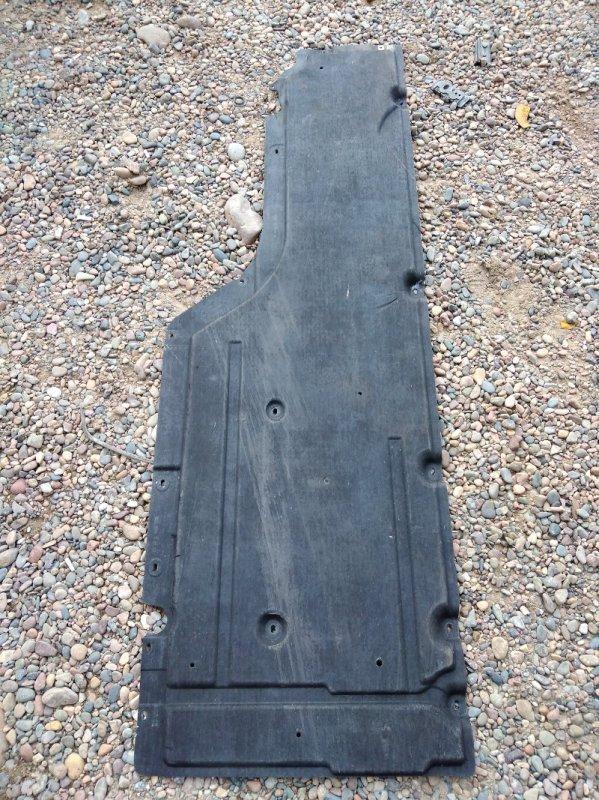 Пластиковая защита Bmw 5-Series E60 N52B25 2009 передняя левая