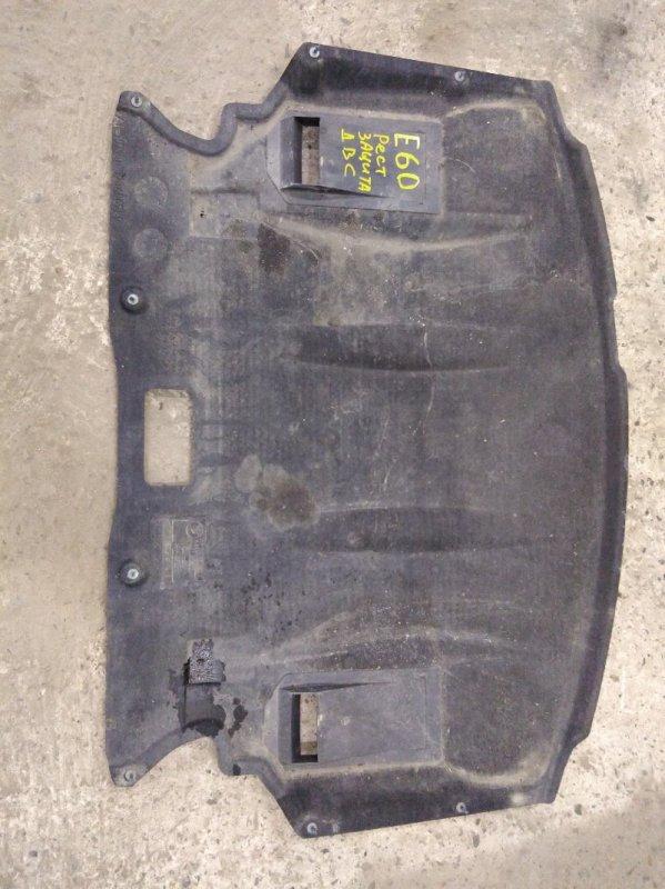 Защита бампера Bmw 5-Series E60 N52B25 2009 передняя
