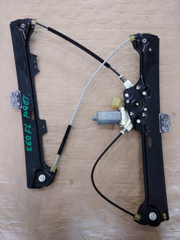 Стеклоподъемник Bmw 5-Series E60 N52B25 2009 передний левый