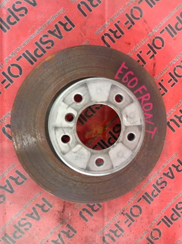 Диск тормозной Bmw 5-Series E60 N52B25 2009 передний