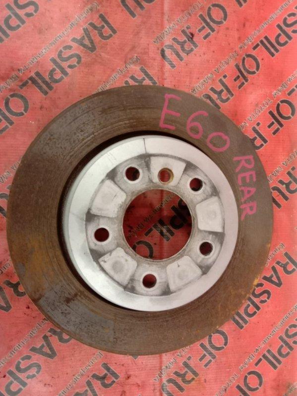 Диск тормозной Bmw 5-Series E60 N52B25 2009 задний