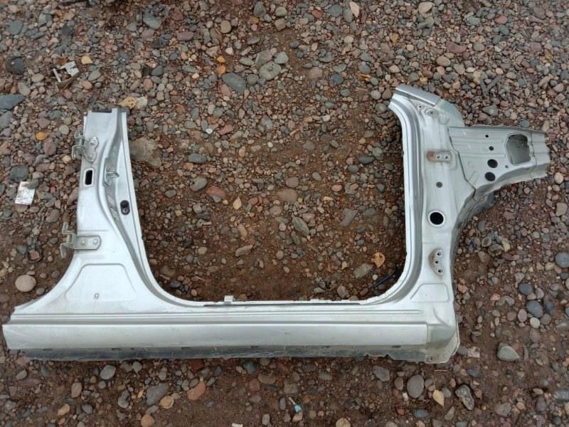 Порог Toyota Corolla Fielder NZE144 1NZ-FE 2009 правый