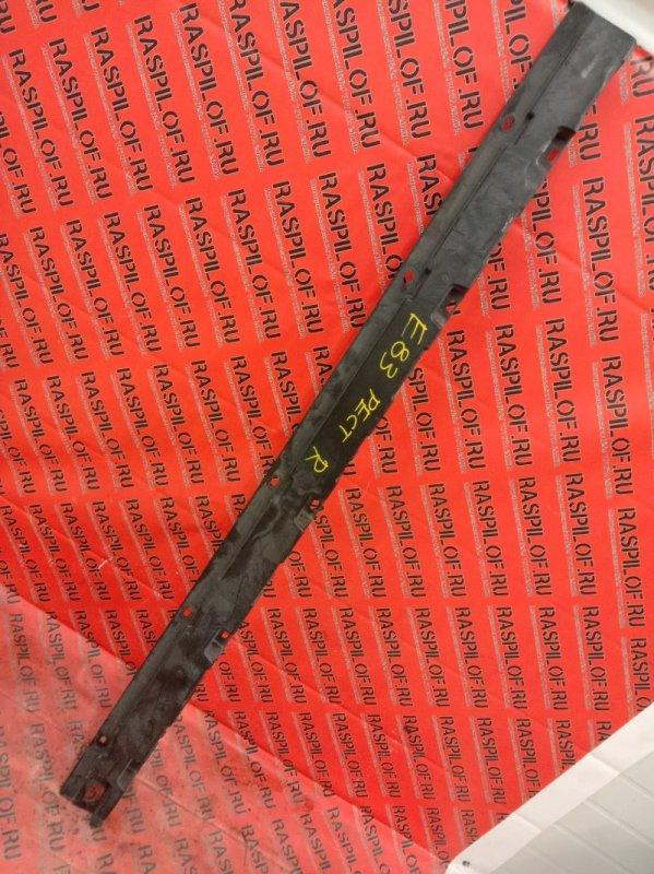 Накладка на порог Bmw X3 - Series E83 N52B25 2008 правая