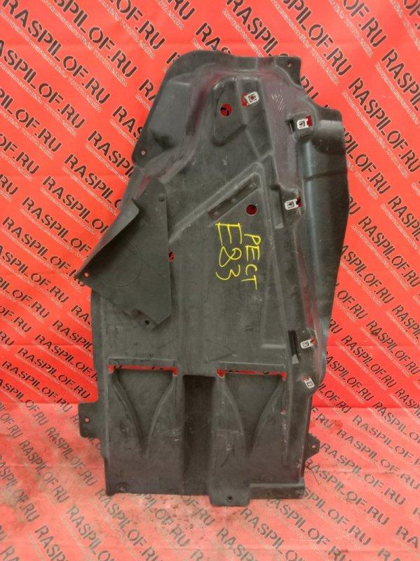 Пластиковая защита Bmw X3 - Series E83 N52B25 2008