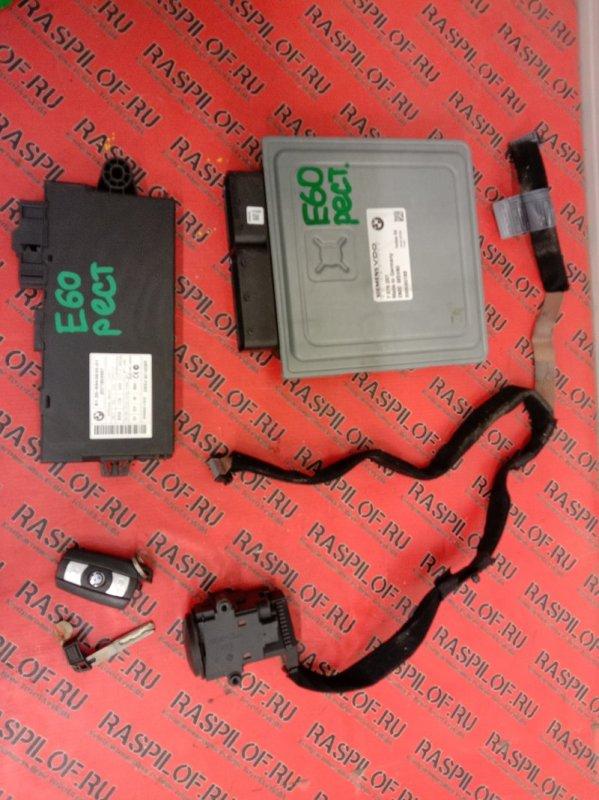 Блок управления двс Bmw 5-Series E60 N52B25 2009