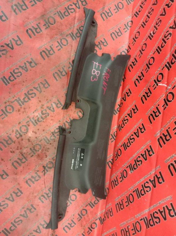 Воздухозаборник Bmw X3 - Series E83 N52B25 2008