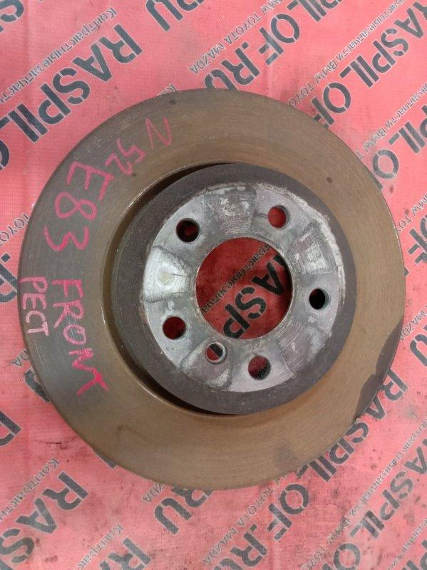 Диск тормозной Bmw X3 - Series E83 N52B25 2008 передний