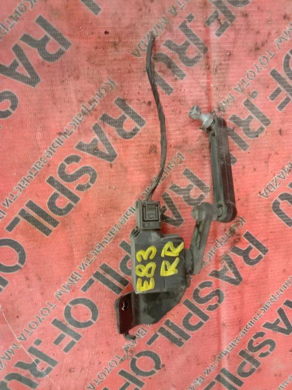 Датчик высоты дорожного просвета Bmw X3 - Series E83 N52B25 2008 задний правый