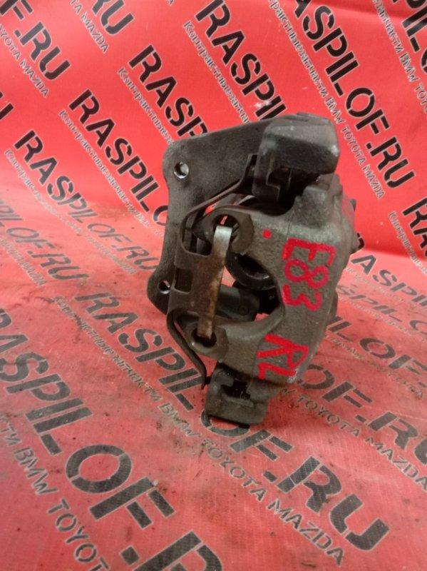 Суппорт Bmw X3 - Series E83 N52B25 2008 задний левый