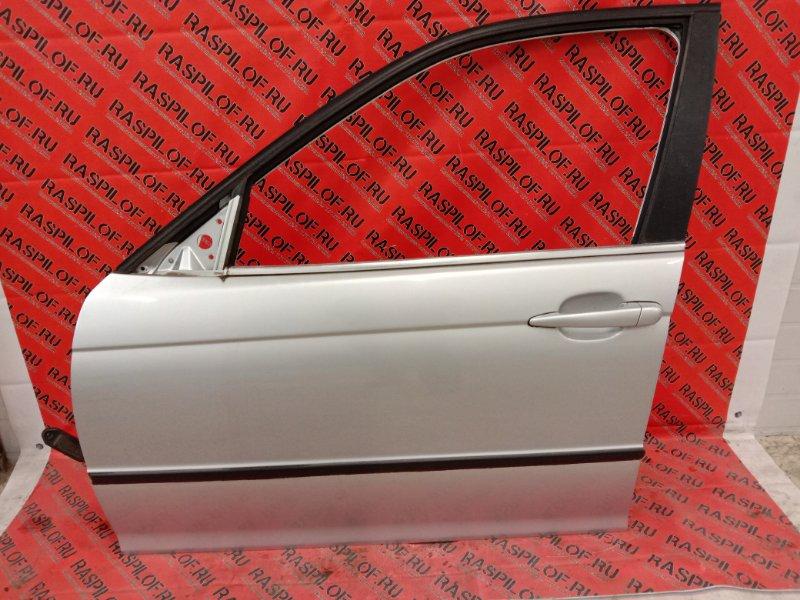 Дверь боковая Bmw 3-Series E46 M54B30 2001 передняя левая