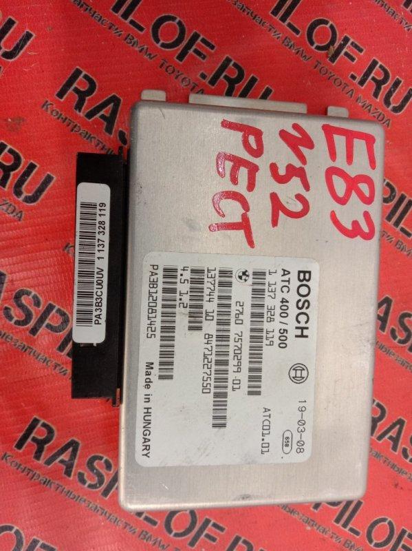 Блок управления Bmw X3 - Series E83 N52B25 2008