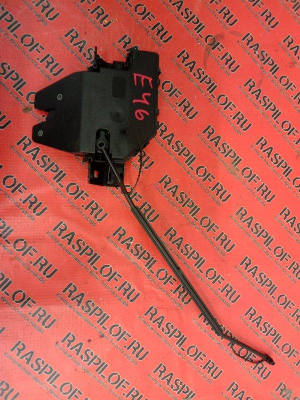 Замок багажника Bmw 3-Series E46 M54B30 2001