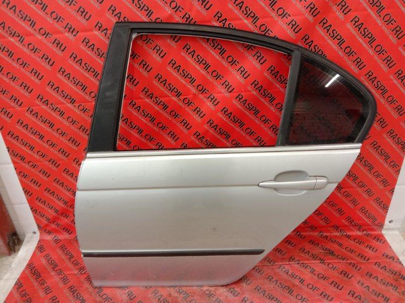 Дверь боковая Bmw 3-Series E46 M54B30 2001 задняя левая