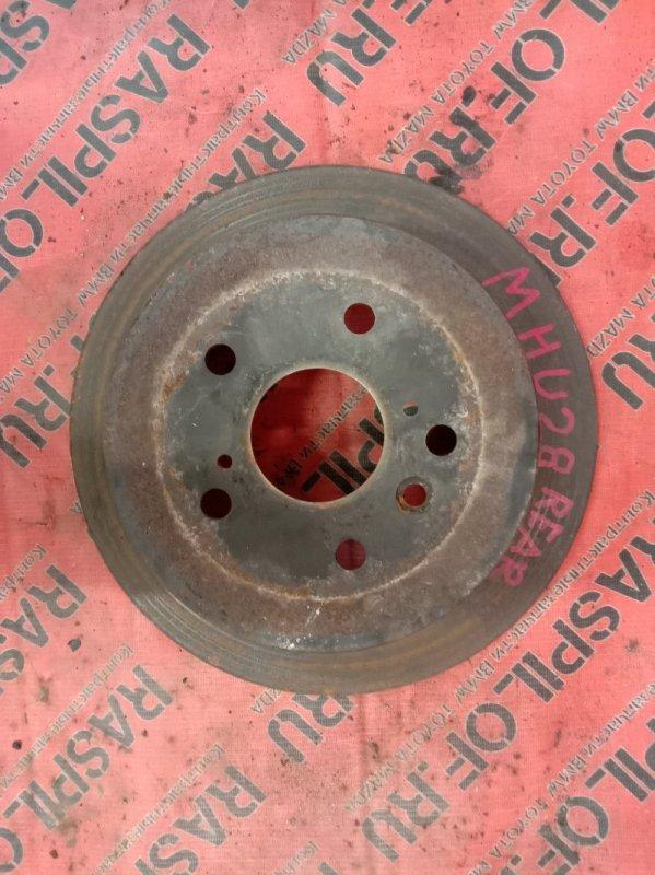 Диск тормозной Toyota Kluger MHU28W 3MZ-FE 2006 задний