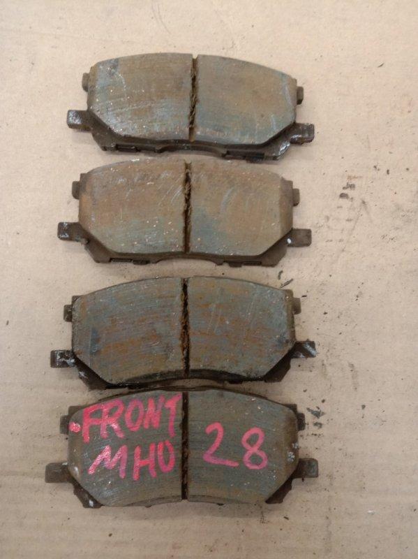 Тормозные колодки Toyota Kluger MHU28W 3MZ-FE 2006 переднее