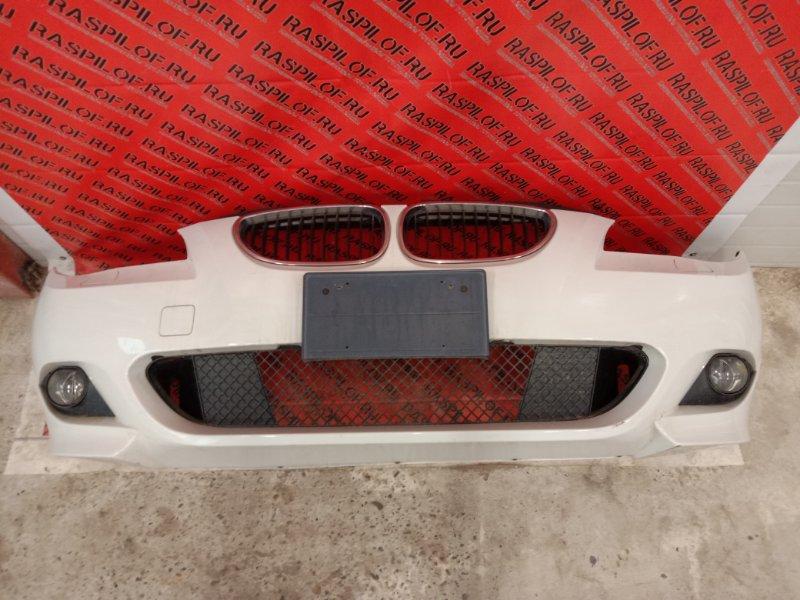 Бампер Bmw 5-Series E60 N52B25 2005 передний