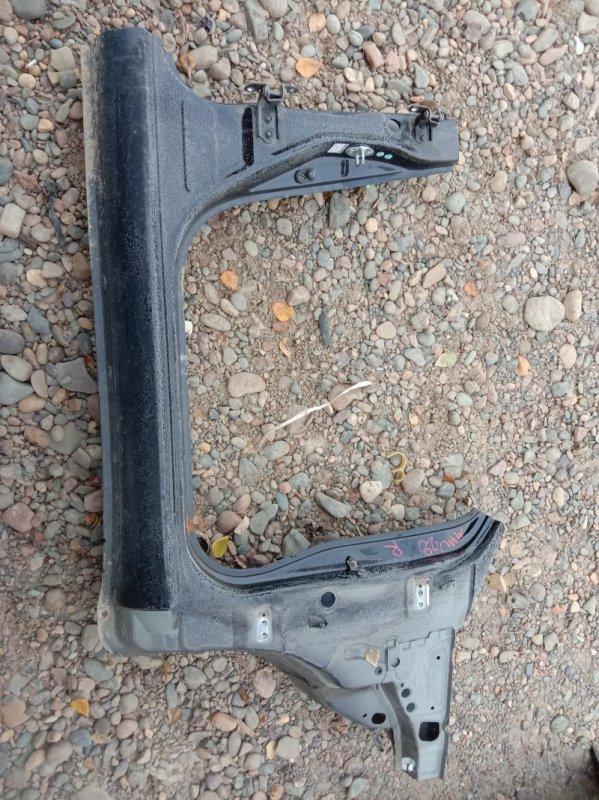 Порог Toyota Kluger MHU28W 3MZ-FE 2006 правый
