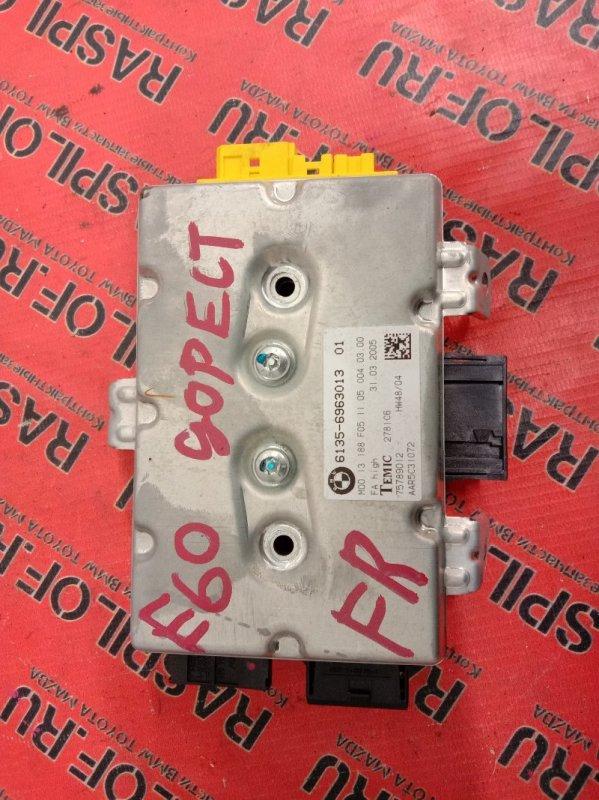 Блок управления air bag Bmw 5-Series E60 N52B25 2005 передний правый