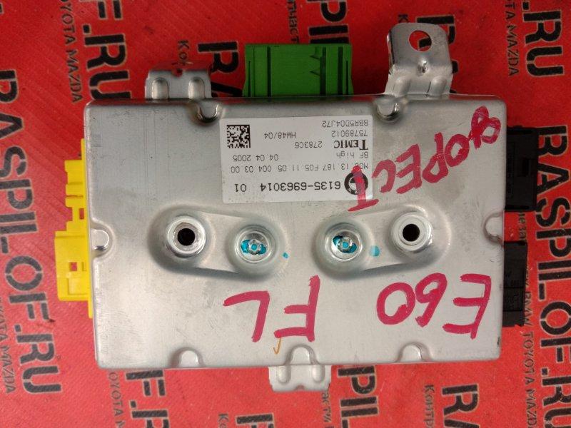 Блок управления air bag Bmw 5-Series E60 N52B25 2005 левый