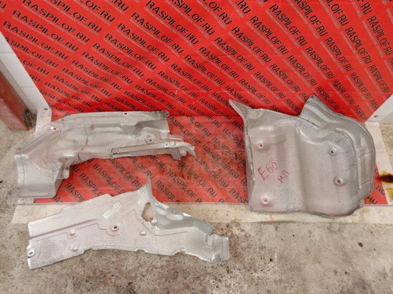 Защита глушителя Bmw 5-Series E60 N52B25 2005