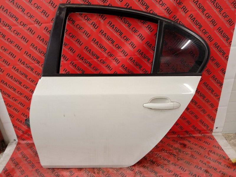 Дверь боковая Bmw 5-Series E60 N52B25 2005 задняя левая