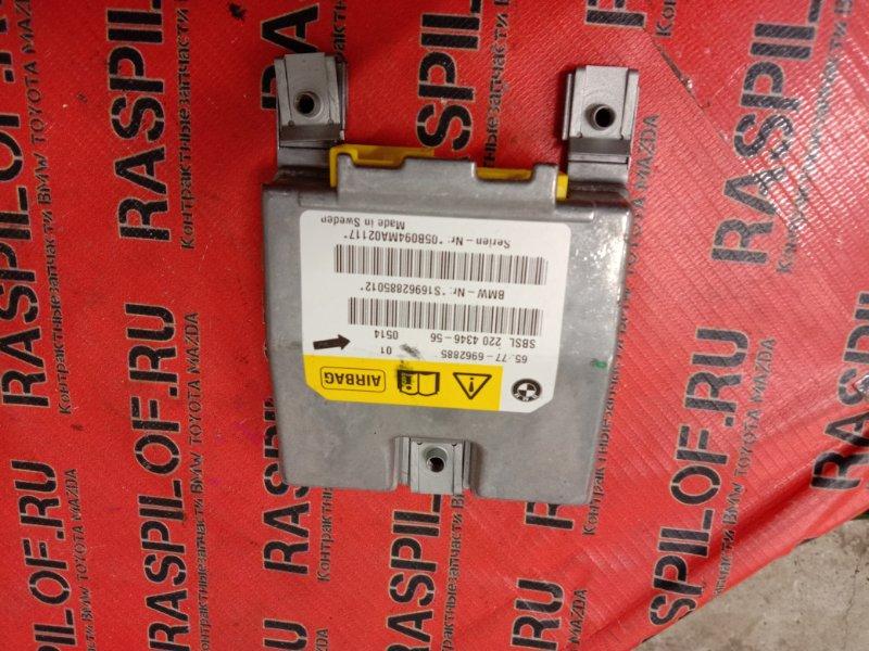 Блок управления air bag Bmw 5-Series E60 N52B25 2005 задний левый