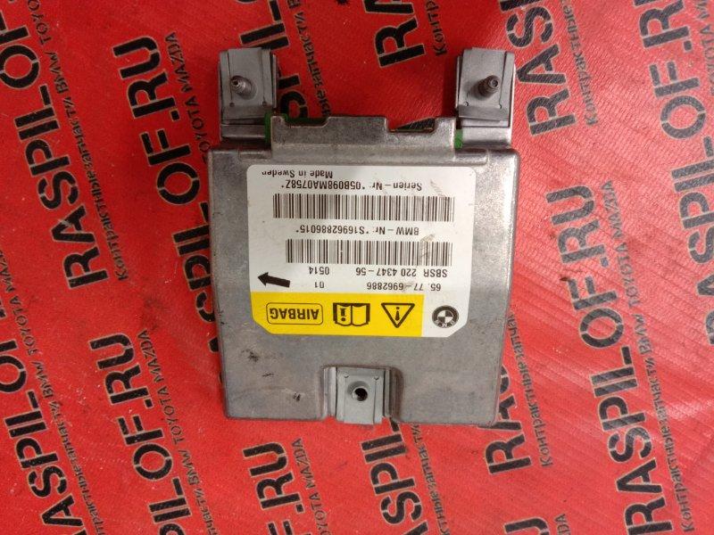 Блок управления air bag Bmw 5-Series E60 N52B25 2005 задний правый
