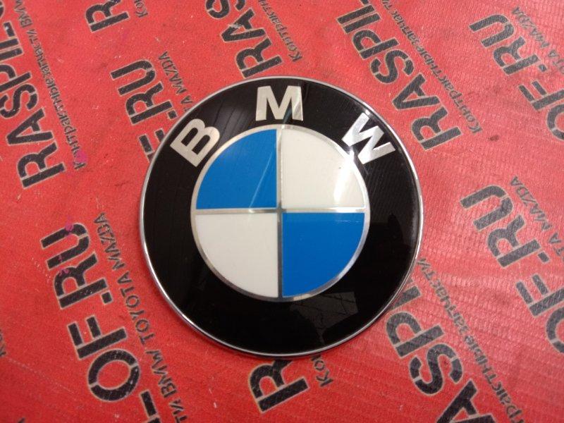 Эмблема Bmw 5-Series E60 N52B25 2005 задняя