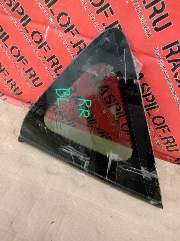 Стекло собачника Mazda Axela BLEFW LF-VDS 2009 заднее правое
