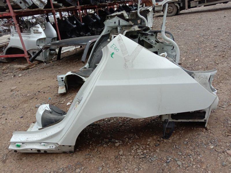 Крыло Bmw 5-Series E60 N52B25 2005 заднее левое