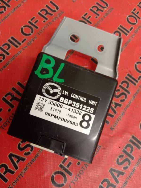 Блок управления Mazda Axela BLEFW LF-VDS 2009