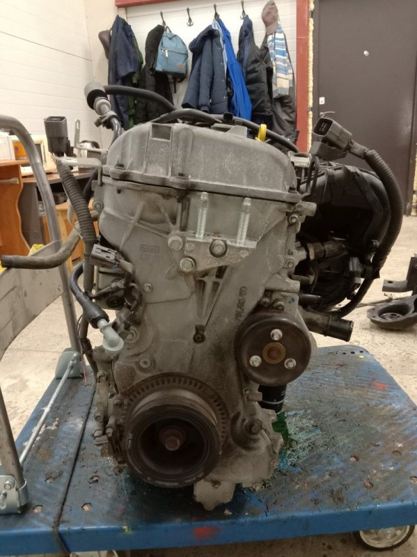 Двигатель Mazda Axela BLEFW LF-VDS 2009