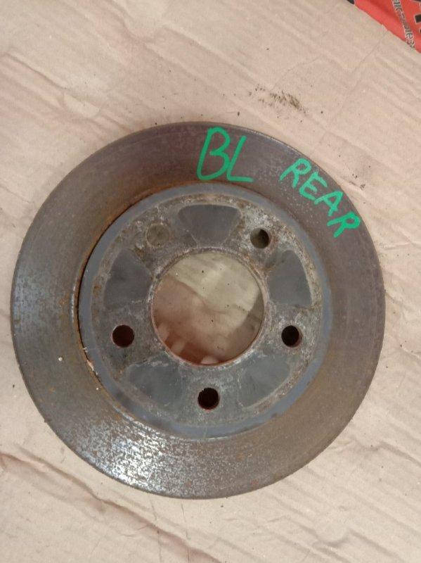 Диск тормозной Mazda Axela BLEFW LF-VDS 2009 задний