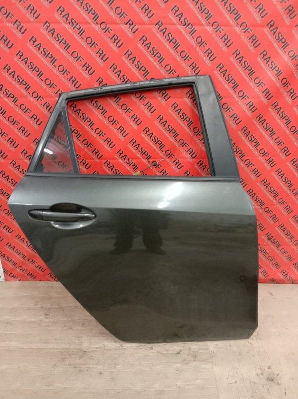Дверь боковая Mazda Axela BLEFW LF-VDS 2009 задняя правая