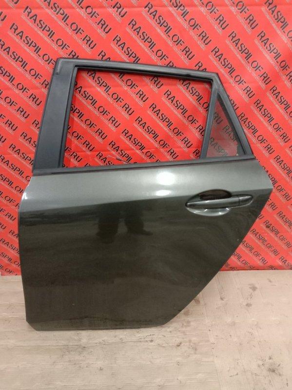 Дверь боковая Mazda Axela BLEFW LF-VDS 2009 задняя левая