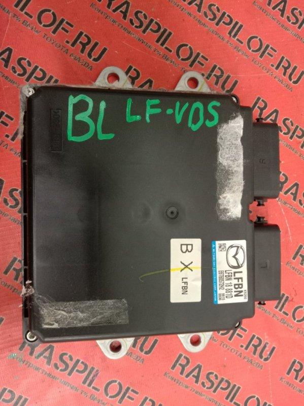 Блок управления двигателем Mazda Axela BLEFW LF-VDS 2009